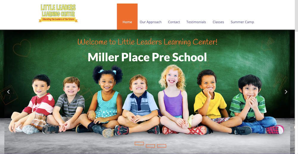 Little Leaders Learning Center launches a new website